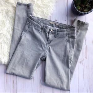 VINCE gray skinny jeans